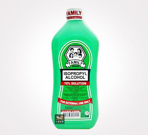 family isopropyl alcohol