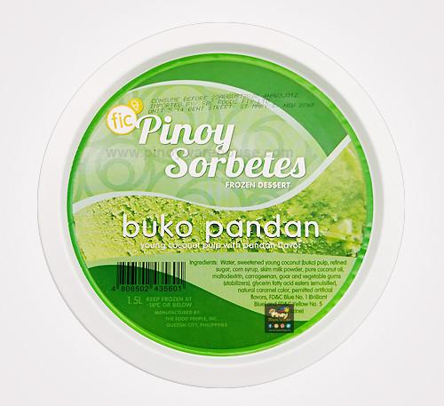 pinoy sorbetes buko pandan