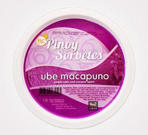 pinoy sorbetes ube macapuno