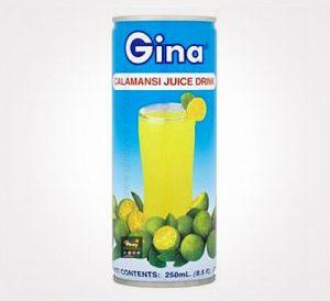 gina calamansi juice drink