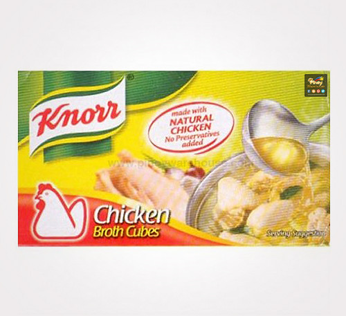 knorr chicken broth cubes