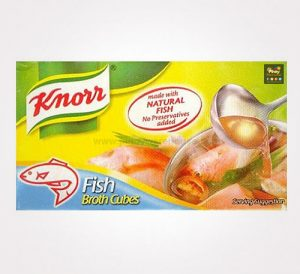 knorr fish broth cubes