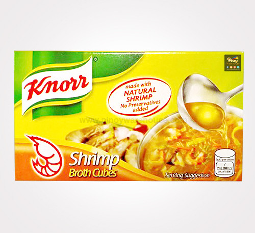 knorr shrimo broth cubes