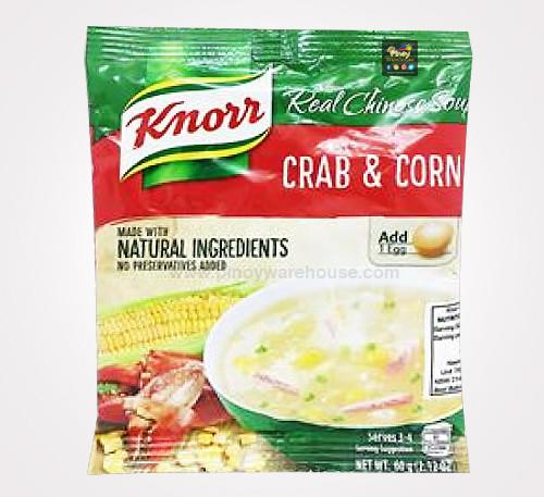 knorr crab & corn