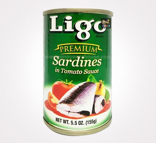 ligo premium sardines in tomato sauce
