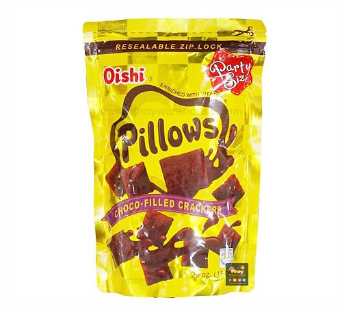 oishi pillows choco