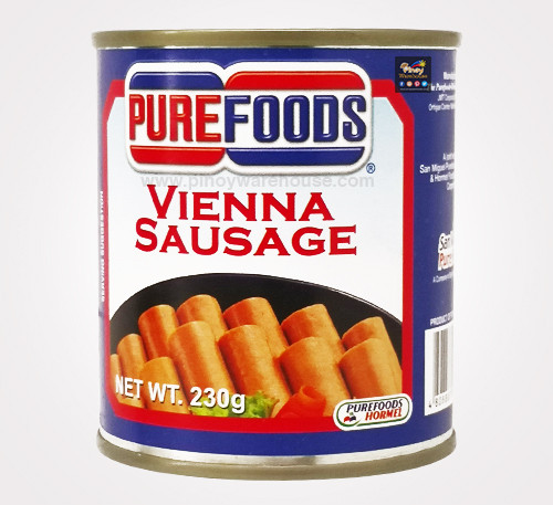 pure foods vienna sausge
